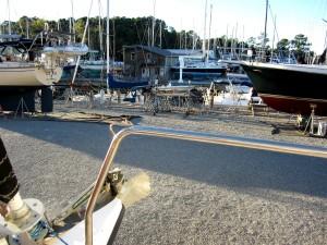 Yacht A Fun on the hard in Oriental NC