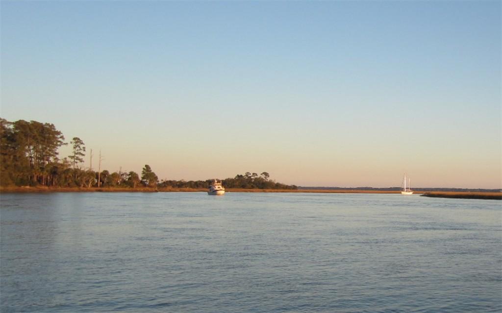Pre sunset near Hilton Head