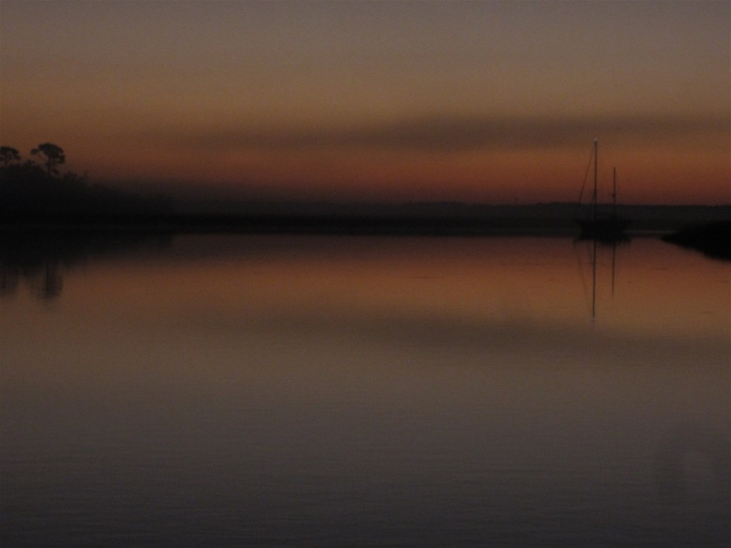 Sunset nearHilton Head