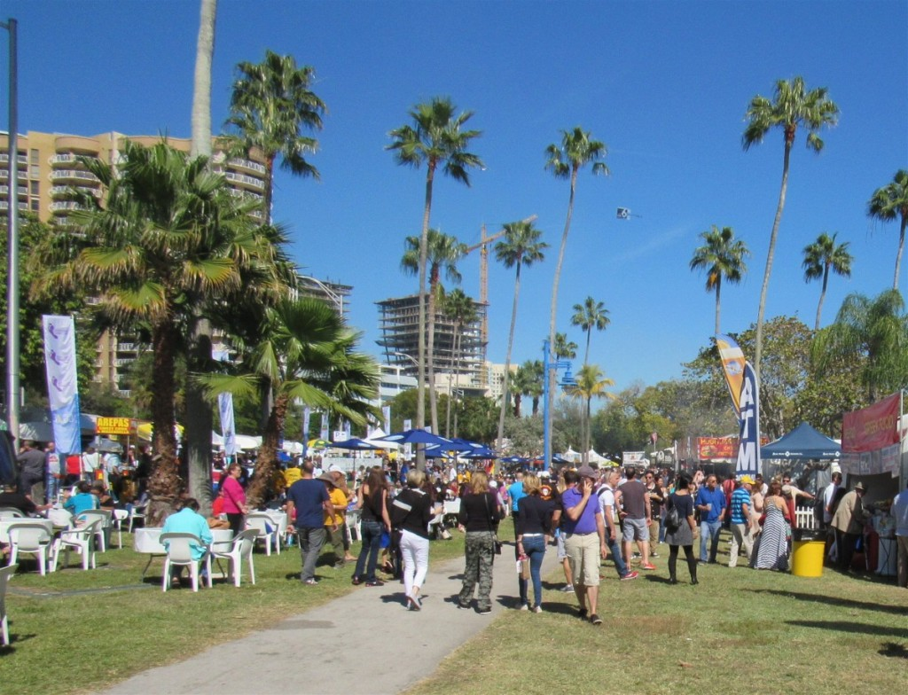 Over 15,000 people attended The Coconut Grove Arts Festival  that day