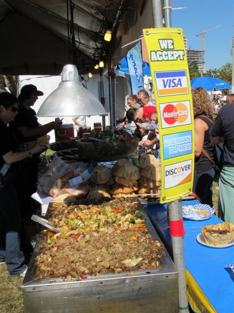 one of the simpler food displays
