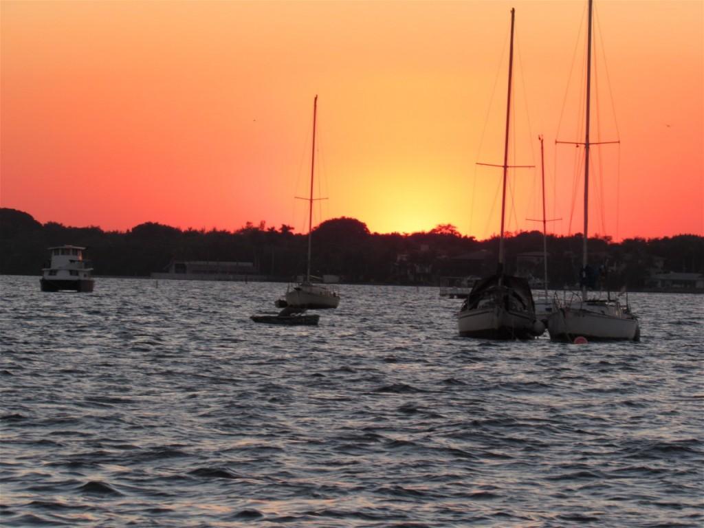Sunset afterward