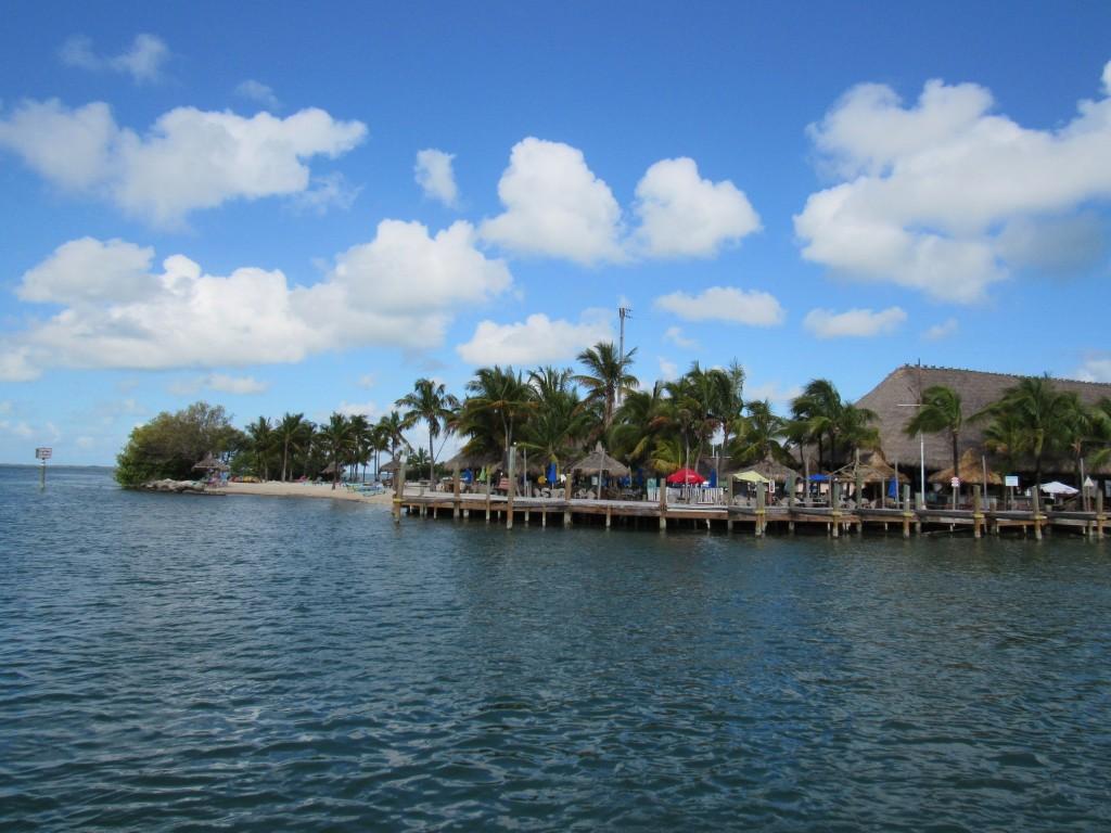 Tiki Bar, Motel rooms, and a beach- at Gilbert's