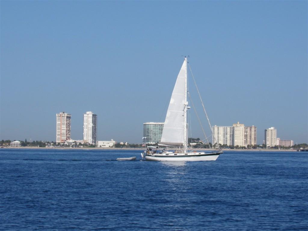 4 Ft lauderdale sailboat