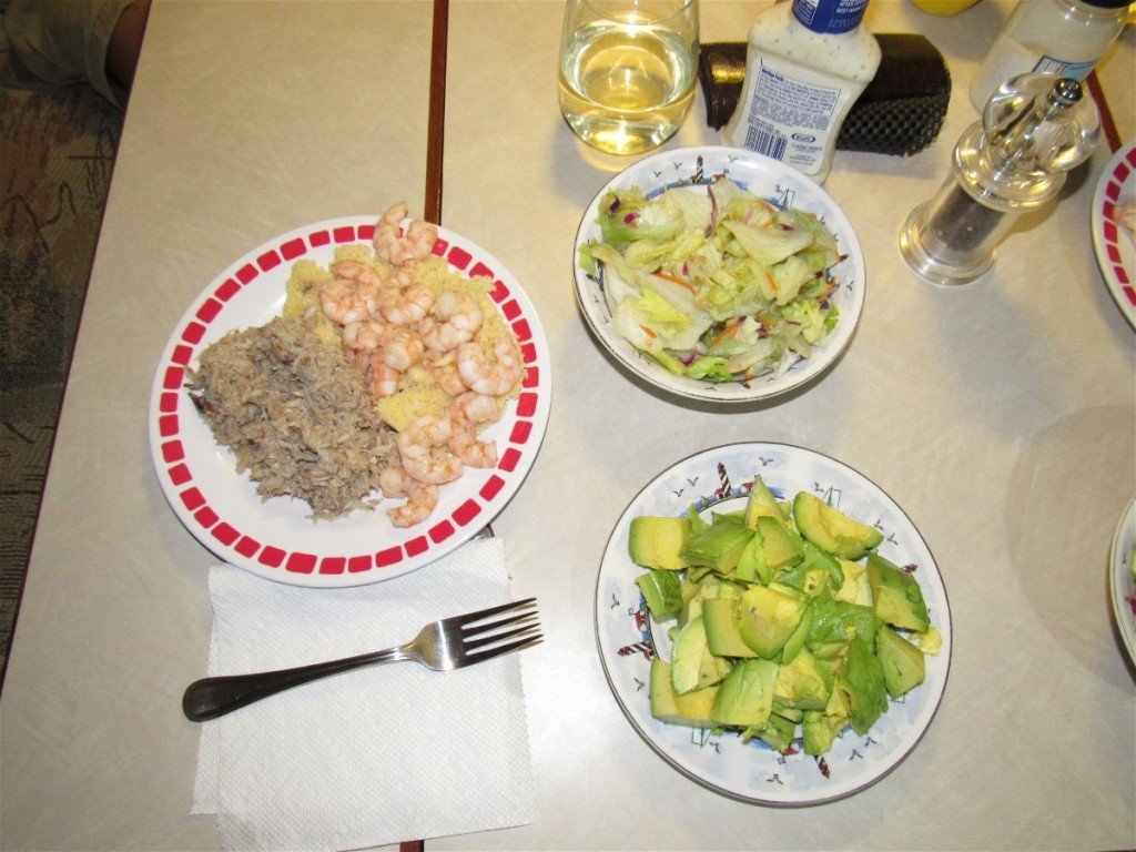 60 crab dinner 1676
