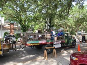 Shriner's Float- the Beverly Hillbillies