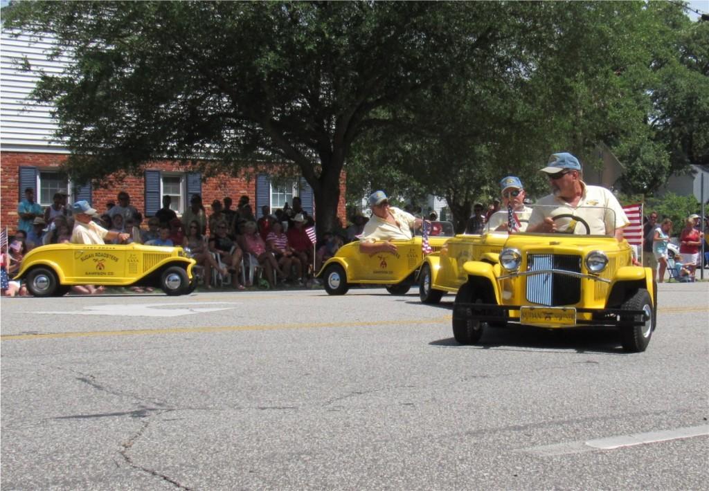 """Shriner cars """"race"""""""