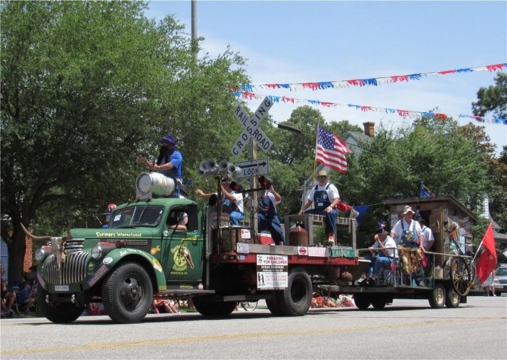 "Beverly Hillbillies parade ""unit"""