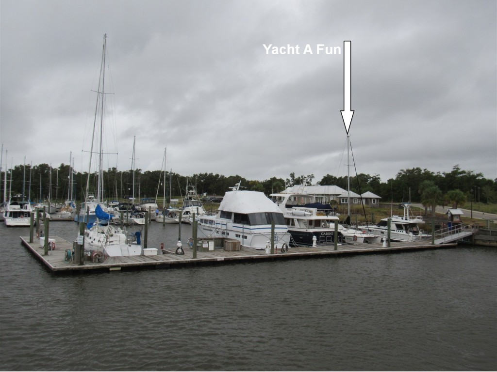 Deep Point Marina is next to the ferry terminal