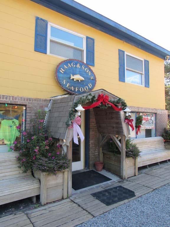 Haag Sons Seafood Oak Island Nc