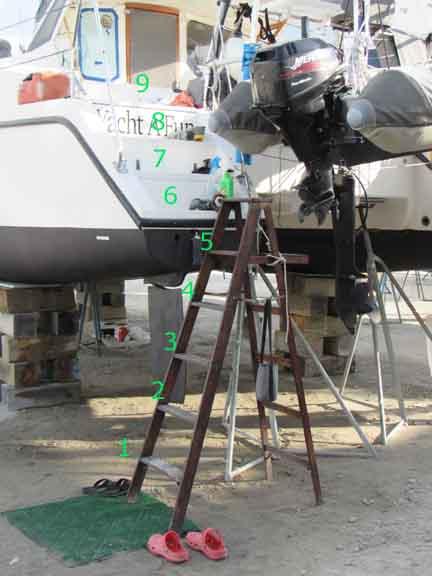 5 steps Yacht A Fun Catamaran